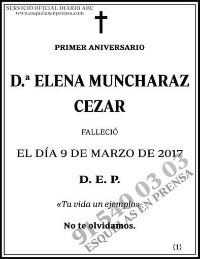 Elena Muncharaz Cezar